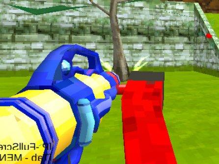 Blocky Gun Paintball