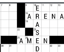 Online Daily Crossword Puzzles