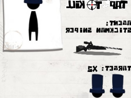 Stickman Sniper: Tap to Kill