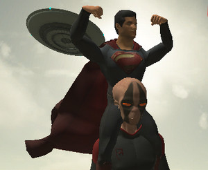 The Superman - Theme is Aliens